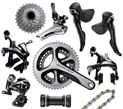 Groupe Complet 11 vitesses Shimano Dura-Ace 9000
