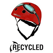 Kiddimoto Red Goggle Helmet - Ex Display