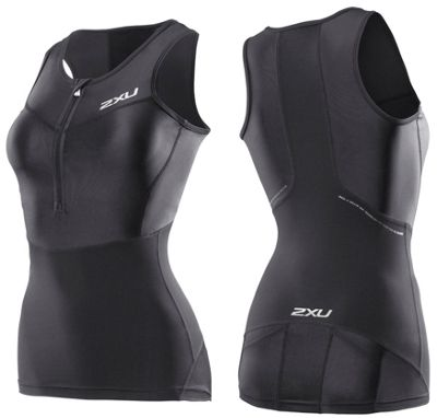 Débardeur de triathlon à compression Femme 2XU G:2