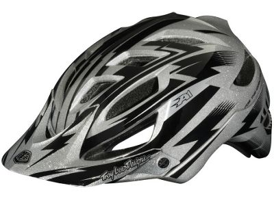 Casque Troy Lee Designs A1 - Cyclops Silver Metal Flake