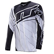 JT Racing Flex Youth Jersey - Black-White 2014