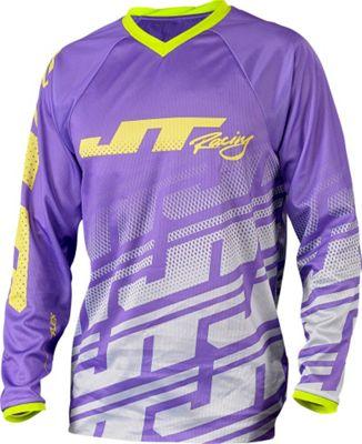 Maillot VTT JT Racing Echo Flex Violet/Gris manches longues 2015