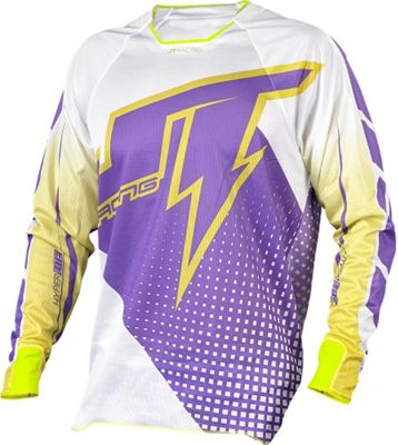Maillot VTT JT Racing Voltage Hyperlite Violet/Blanc manches longues 2015