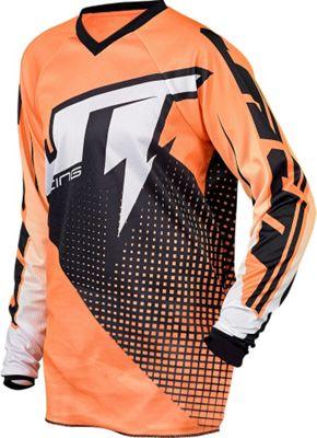 Maillot VTT JT Racing Voltage enfant Noir/Orange manches longues 2015