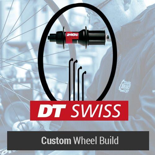 DT Swiss Custom ロードリアホイール