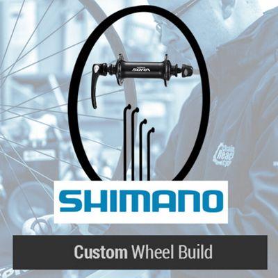 Roue Route Shimano Custom avant