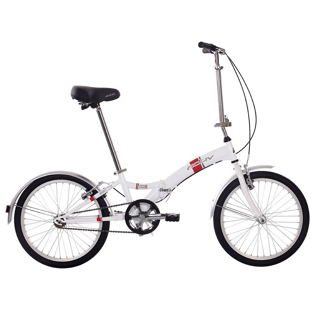 Raleigh ACTIV Steel Single Speed Folding Bike