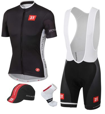 Maillot Route Castelli 3T Pro Team Kit 2015