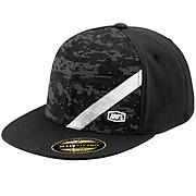 100 Slant Camo Snapback Hat