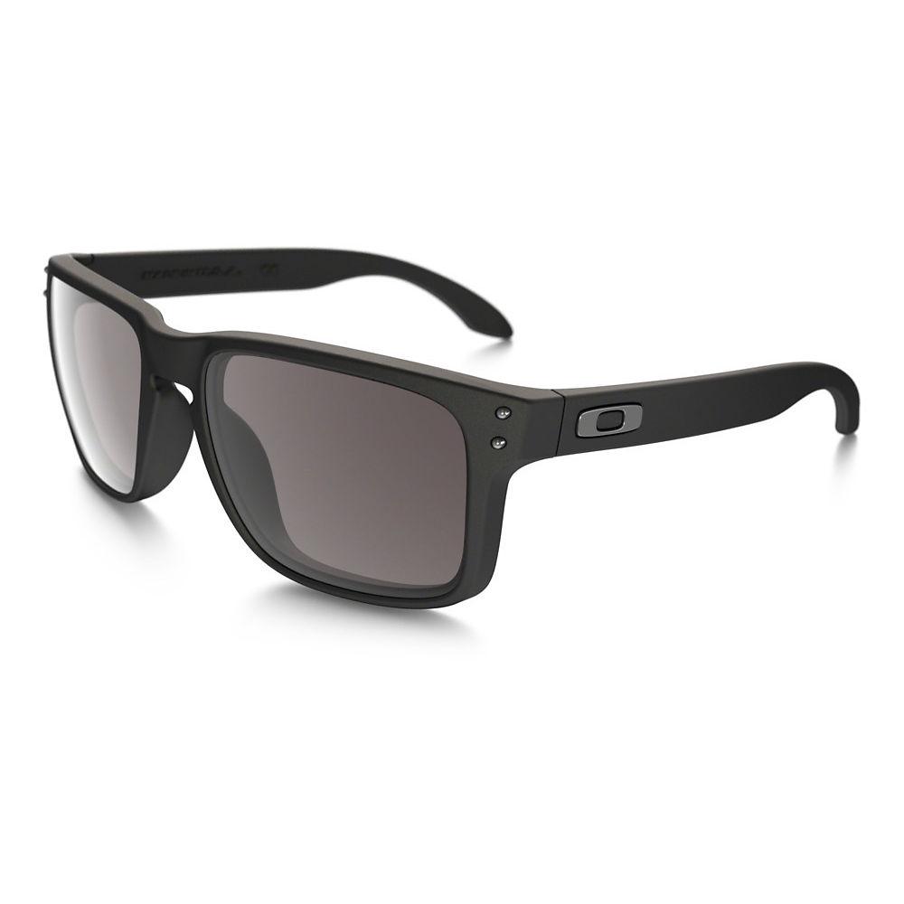 8c49a1fda44441 700285385167 UPC - Oakley Holbrook Sunglasses Matte Black   Warm ...