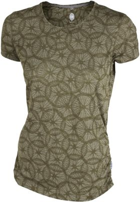 Maillot Route Club Ride Wheel Cute Femme manches courtes SS16