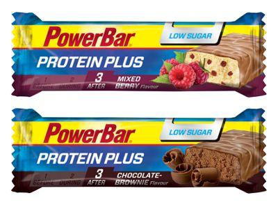Barres énergétiques PowerBar Protein Plus Low Sugar 35g x 30