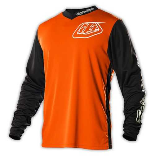 maillot vtt troy lee designs gp hot rod orange manches longues 2015 chain reaction cycles. Black Bedroom Furniture Sets. Home Design Ideas