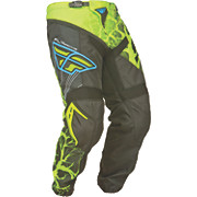 Fly Racing F-16 Pants - LTD Hi-Vis-Blue 2015