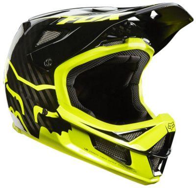 Casque intégral Fox Racing Rampage Pro Carbon- Noir Jaune