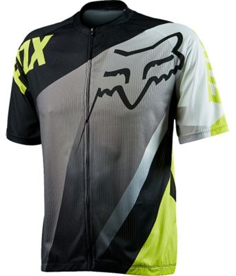 Maillot VTT Fox Racing Livewire Descent Acid Vert manches courtes SS15