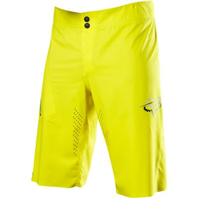 Short Fox Racing Attack Ultra Jaune