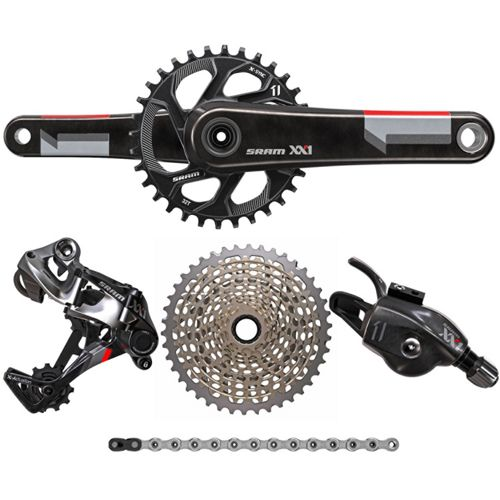 Sram xx1 11 speed groupset chain reaction cycles sram xx1 11 speed groupset stopboris Gallery
