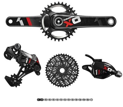 Groupe complet SRAM X01 11 vitesses