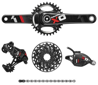 Groupe complet SRAM X01 DH 7 vitesses