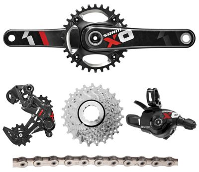 Groupe complet SRAM X01 DH 10 vitesses