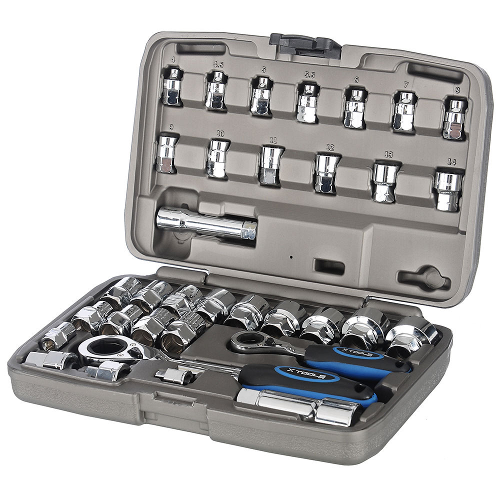 x-tools-34-piece-go-through-socket-set