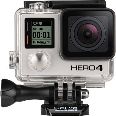 Cámara GoPro Hero4 Negra + arnés de pecho GRATIS