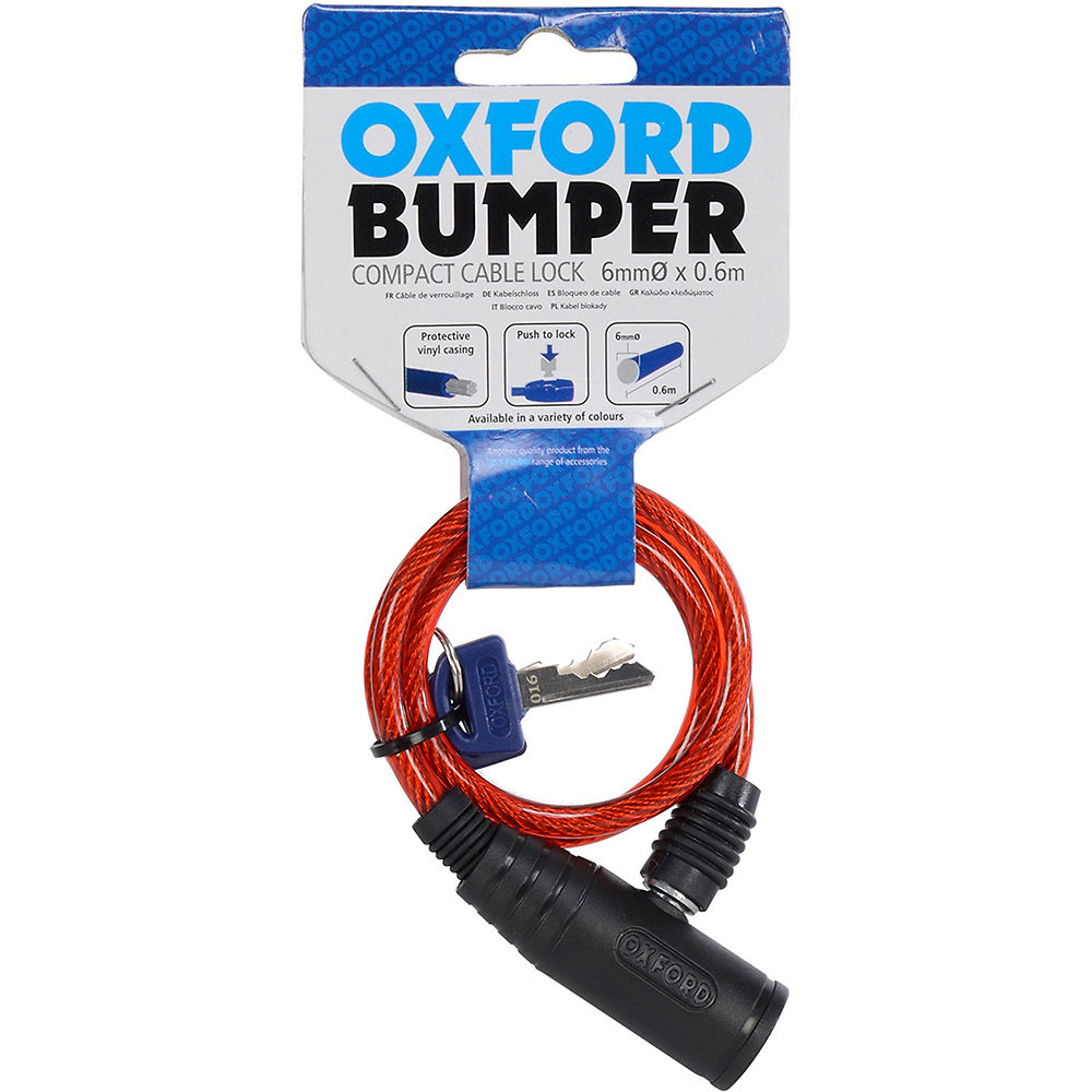 Product image of Oxford Bumper Cable Lock 600mm