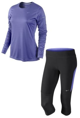 Pack Maillot + Collant Nike femme