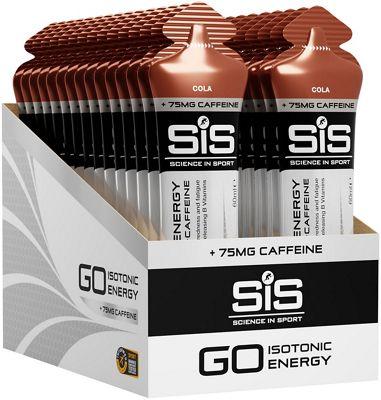 Gel nutritionnels Science In Sport Go Energy + Caffeine Gels 60ml x 30