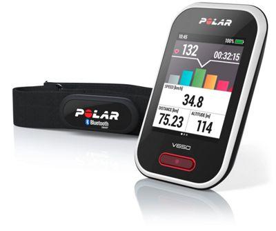 Compteur Polar V650 Cycling GPS avec moniteur cardiaque
