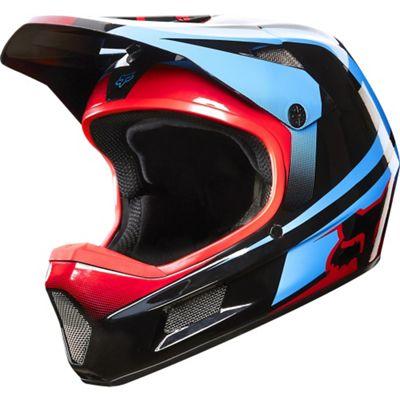 Casque Fox Racing Rampage Comp - Imperial Noir/Bleu 2015