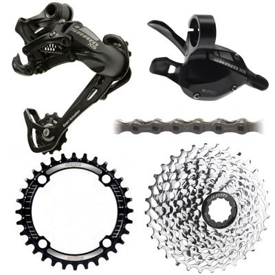 Groupe complet SRAM X5 1x10 vitesses