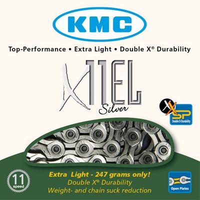 Chaîne KMC X11-EL 11 vitesses