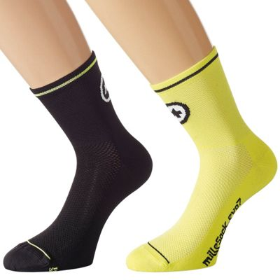 Chaussettes Assos milleSocks_evo7 - 2 paires SS17