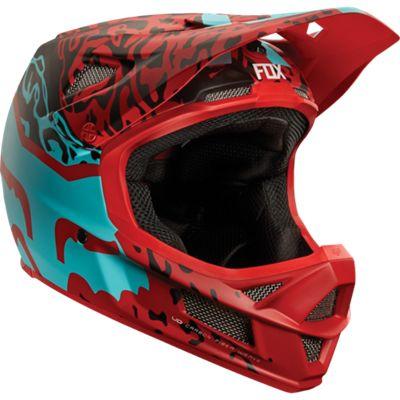 Casque Fox Racing Rampage Pro Carbon MIPS - Cauz Rouge 2015