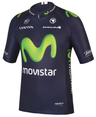 Maillot Endura Movistar Team 2015