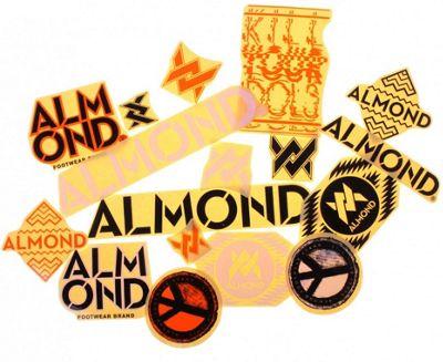 Pack d'autocollants Almond