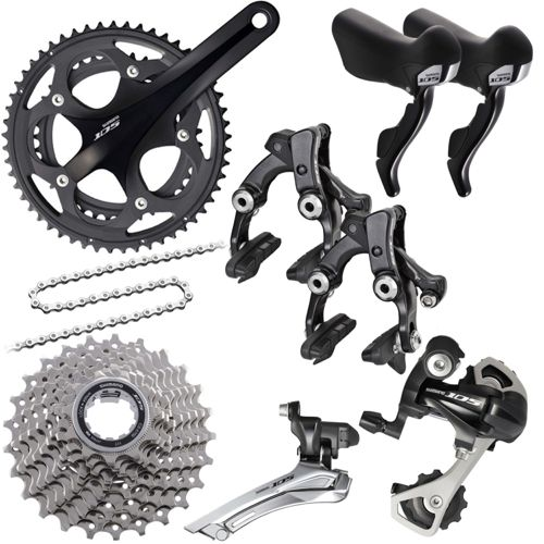 Shimano 105 5700 10 Speed Groupset Builder | Chain Reaction Cycles