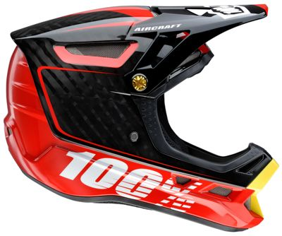 Casque 100% Aircraft DH - BiTurbo Rouge