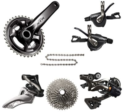 Groupe complet Shimano XTR 11 Vitesses