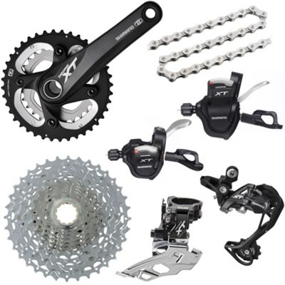 Groupe complet Shimano XT 10 Vitesses