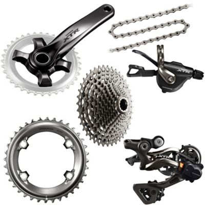 Groupe complet Shimano XTR 1x11 Vitesses