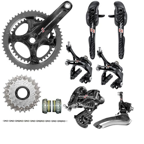 groupe complet campagnolo record ultra torque carbon 11v chain reaction cycles. Black Bedroom Furniture Sets. Home Design Ideas