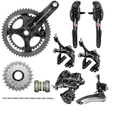 Groupe complet Campagnolo Record Ultra Torque Carbon 11v