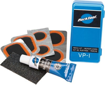 Kit de rustines à vulcanisation Park Tools VP1