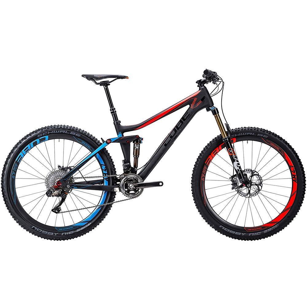 Bicicleta de doble suspensión Cube Stereo 140 C68 Super HPC SLT 2015