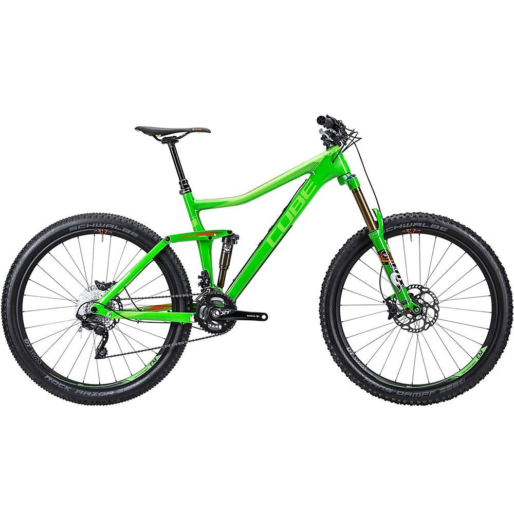 Bicicleta de doble suspensión Cube Stereo 160 Super HPC SL 27.5 2015