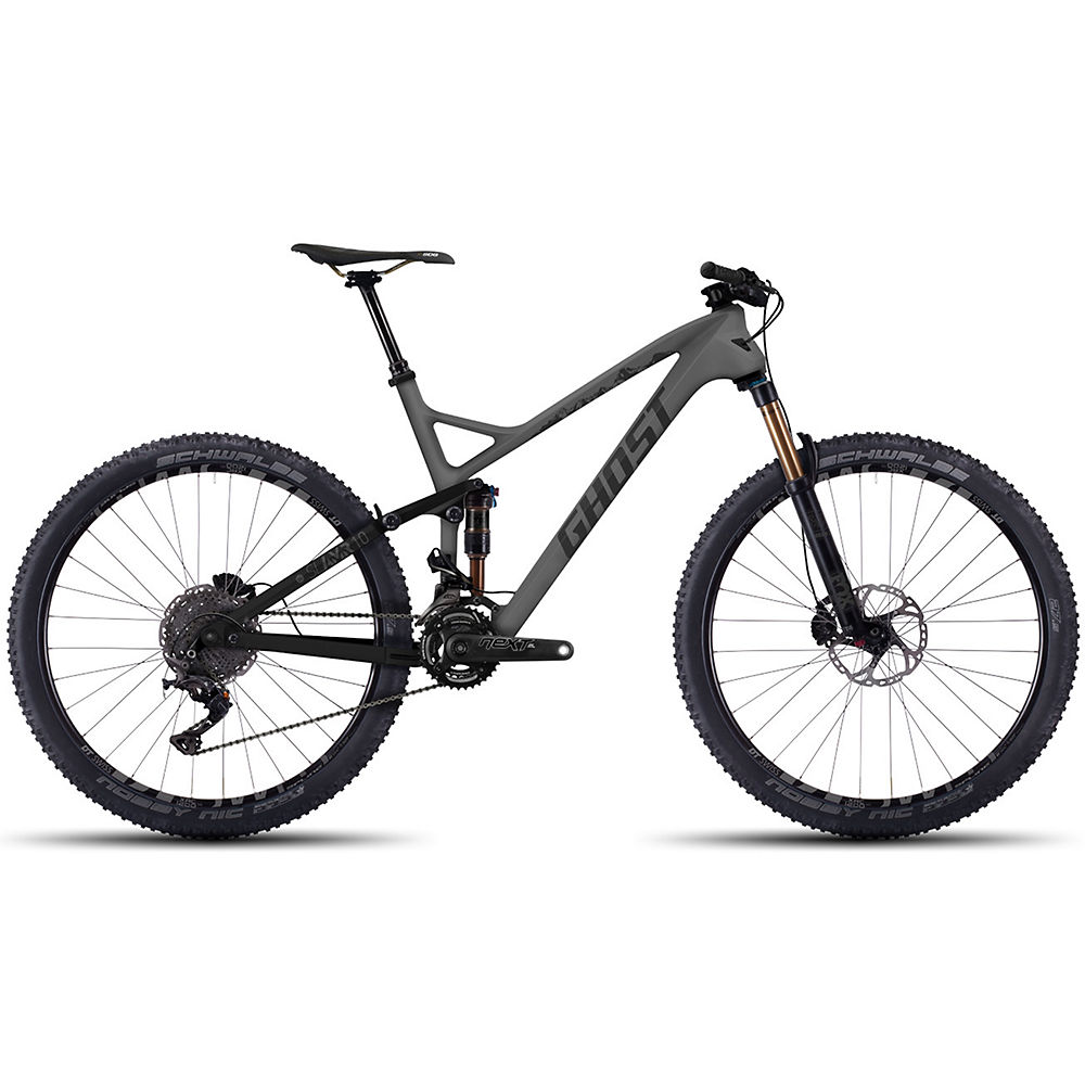 Bicicleta de doble suspensión Ghost SLAMR 10 LC 2016