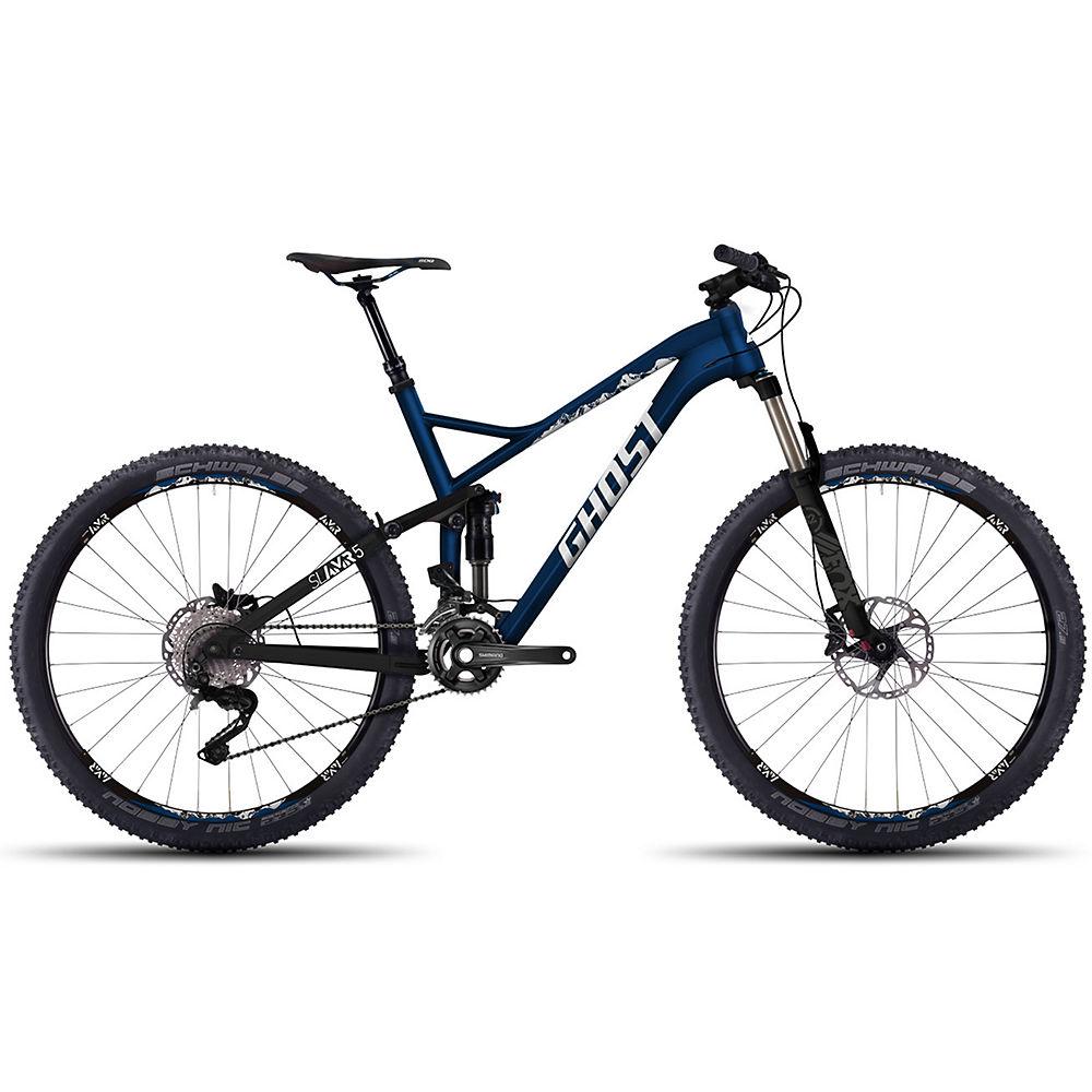 Bicicleta de doble suspensión Ghost SLAMR 5 2016